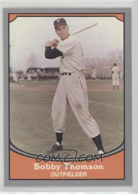 1990 Pacific Baseball Legends Base 106 Bobby Thomson