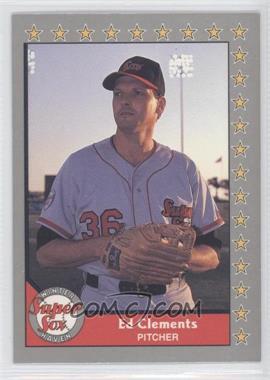 1990 Pacific Senior Professional Baseball Association - [Base] #54 - Ed Clements
