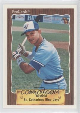 1990 ProCards Minor League - [Base] #3455 - Edgar Marquez