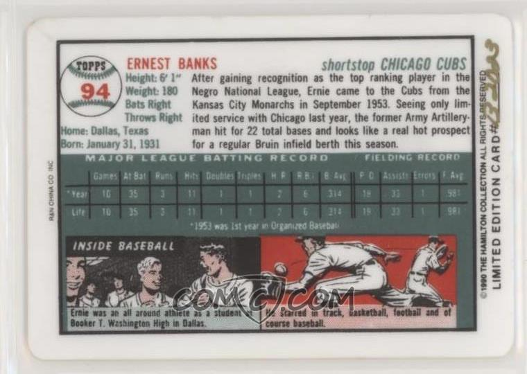 1990 Rn China Topps Porcelain Hamilton Collection Dream