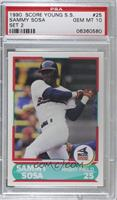 Sammy Sosa [PSA 10 GEM MT]