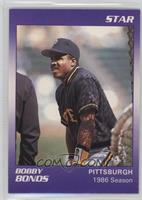 Barry Bonds (Name Spelled Bobby) [Noted]