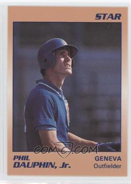 1990 Star Geneva Cubs - [Base] #6 - Phil Dauphin