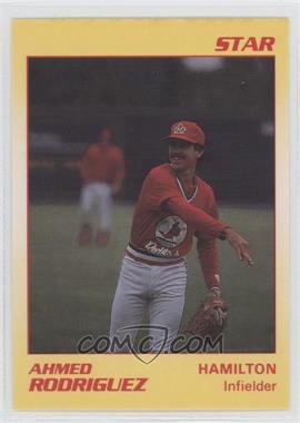 1990 Star Hamilton Redbirds - [Base] #20 - Ahmed Rodriguez