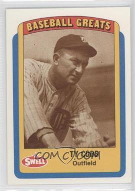 1990 Swell Baseball Greats - [Base] #15 - Ty Cobb