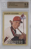 Jason Giambi [BGS 9.5 GEM MINT]