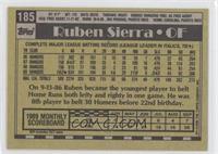 Ruben Sierra