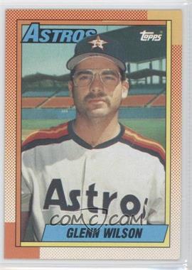 1990 Topps - [Base] #112 - Glenn Wilson