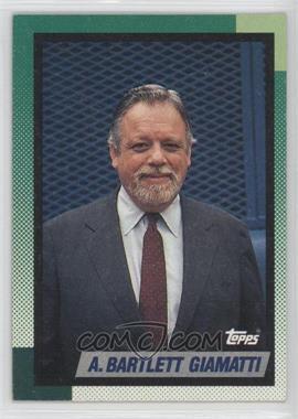 1990 Topps - [Base] #396 - A. Bartlett Giamatti