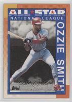 Ozzie Smith (Dugout area has top gray color)