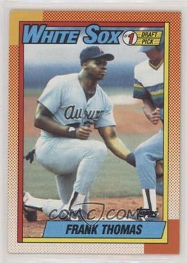 1990 Topps - [Base] #414.1 - Frank Thomas