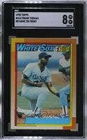 Frank Thomas (No Name on Front) [SGC 88 NM/MT 8]