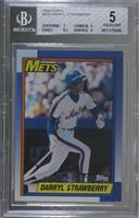 Darryl Strawberry [BGS 5 EXCELLENT]