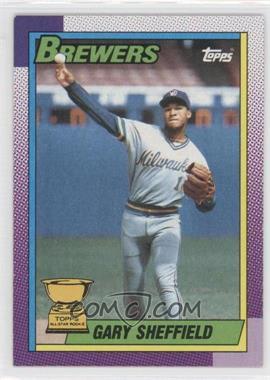 1990 Topps - [Base] #718 - Gary Sheffield