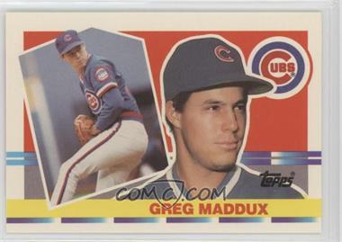 1990 Topps Big Base 204 Greg Maddux