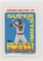 Jerome Walton (Will Clark 85)