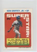Ken Griffey Jr (Bill Doran 15; Ozzie Guillen 298)