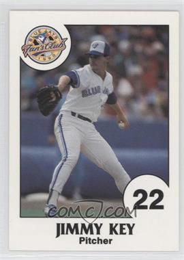 1990 Toronto Blue Jays Fire Safety - [Base] #22 - Jimmy Key