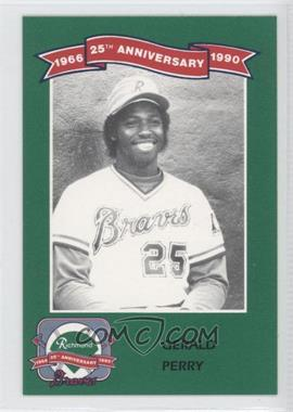 1990 Ukrop's Pepsi Richmond Braves 25th Anniversary - [Base] #19 - Gerald Perry