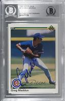 Greg Maddux [BAS Certified Encased by BGS]