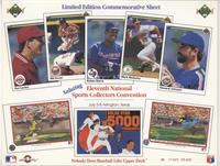 Pat Combs, Bill Doran, Ruben Sierra, Mark McGwire, Howard Johnson, Nolan Ryan, …