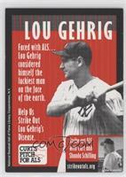 Lou Gehrig, Curt Schilling