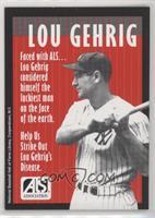 Lou Gehrig Red Border
