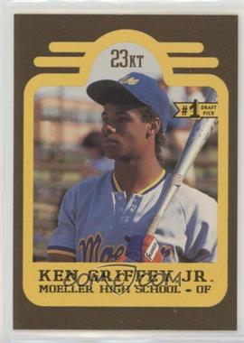 34e66359be 1991 Bleachers Ken Griffey Jr. - [Base] #1 - Ken Griffey /10000