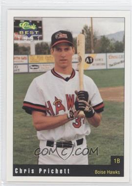 1991 Classic Best Boise Hawks - [Base] #2 - Chris Pritchett