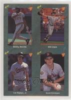 Bobby Bonilla, Will Clark, Cal Ripken Jr., Scott Erickson