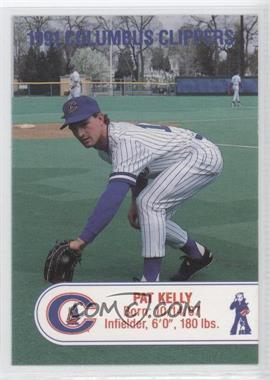 1991 Cracker Jack Columbus Clippers Police - [Base] #PAKE - Pat Kelly