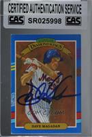 Diamond Kings - Dave Magadan (No Yellow Stripe on Right Border) [CAS Certi…