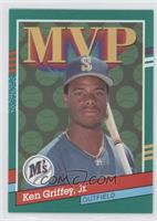 Ken Griffey Jr. (Yellow Stripes on Right Border)