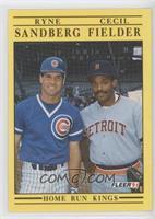Cecil Fielder, Ryne Sandberg