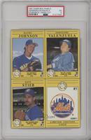 Randy Johnson, Fernando Valenzuela, Dave Stieb, New York Mets [PSA5…
