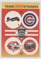 Atlanta Braves, Chicago Cubs, Cincinnati Reds Logo, Cincinati Reds