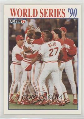 1991 Fleer Baseballcardpediacom
