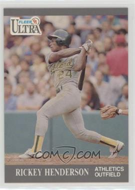 1991 Fleer Ultra - [Base] #248 - Rickey Henderson