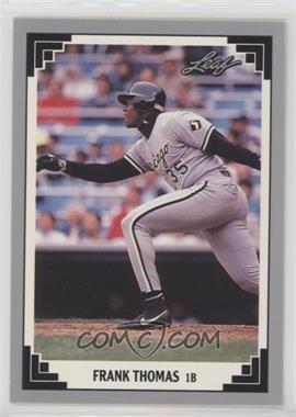 1991 Leaf - [Base] #281 - Frank Thomas
