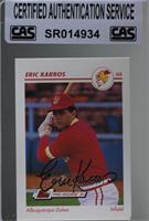 Eric Karros [CASCertifiedSealed]