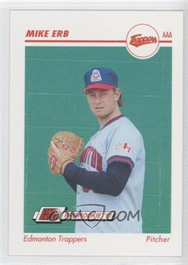 1991 Line Drive Pre-Rookie - AAA #154 - Mike Erb