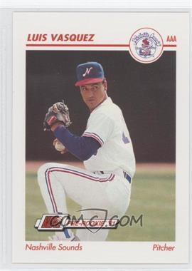 1991 Line Drive Pre-Rookie - AAA #272 - Luis Vasquez