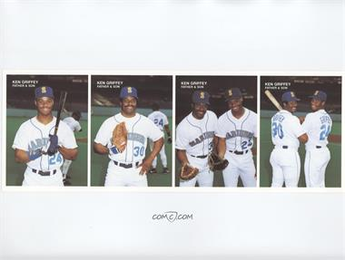 2bb3fa91ab 1991 Mother's Cookies Ken Griffey Sr./Jr. Father & Son - Food Issue [Base]  #1-2-3-4 - Ken Griffey Jr., Ken Griffey