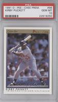 Kirby Puckett [PSA 10 GEM MT]