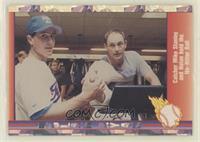 Nolan Ryan, Mike Stanley (Catcher Mike Stanley and Nolan)