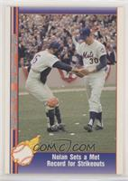 Nolan Ryan (Being Greeted by Jerry Grote) [EX to NM]