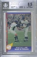 Nolan Ryan (Being Greeted by Jerry Grote) [BGS 8.5 NM‑MT+]