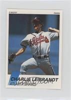 Charlie Leibrandt