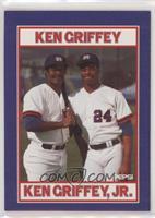 Ken Griffey, Ken Griffey Jr.