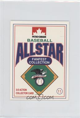 1991 Petro-Canada All Star FanFest Stand-Ups - [Base] #11 - Cecil Fielder